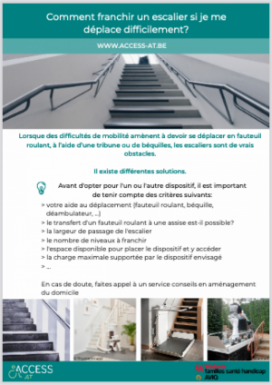 Franchir les escaliers